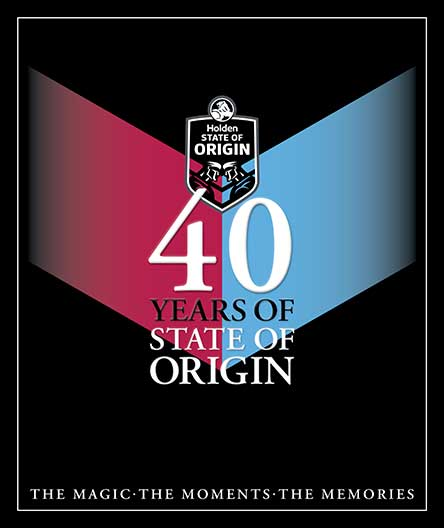 40 Years Of State Of Origin