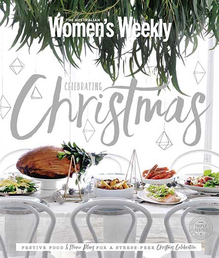 The Australian Women's Weekly Celebrating Christmas