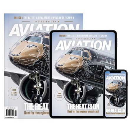 Australian Aviation Magazine Subscription