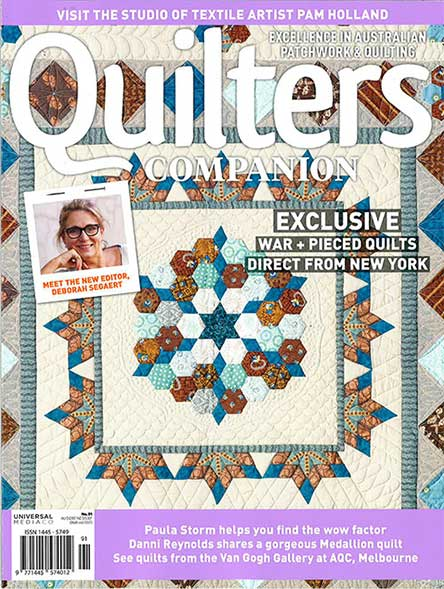 Australian Quilters Companion 9 issues