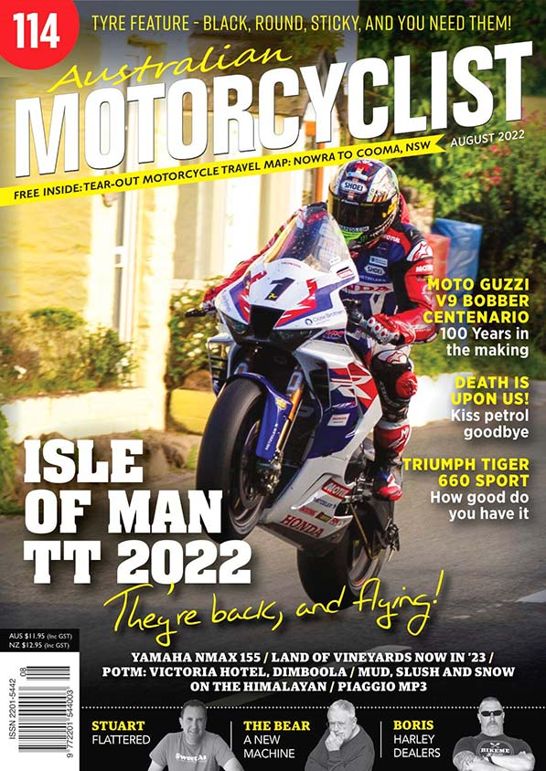 Australian Motorcyclist 12 issues