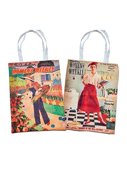 The Australian Women's Weekly Exclusive Retro Tote Bags