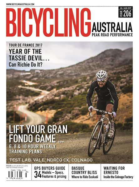 Bicycling Australia 6 issues