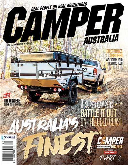 Camper Trailer Australia Magazine Subscription