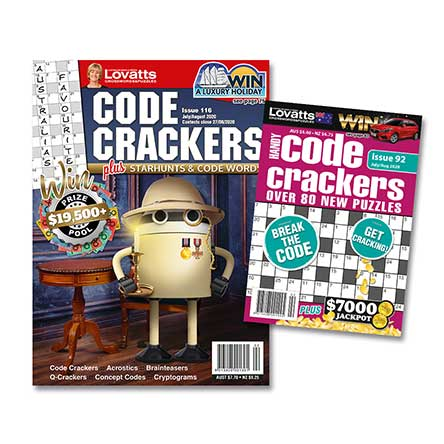 Lovatts Code Crackers Bundle Magazine Subscription