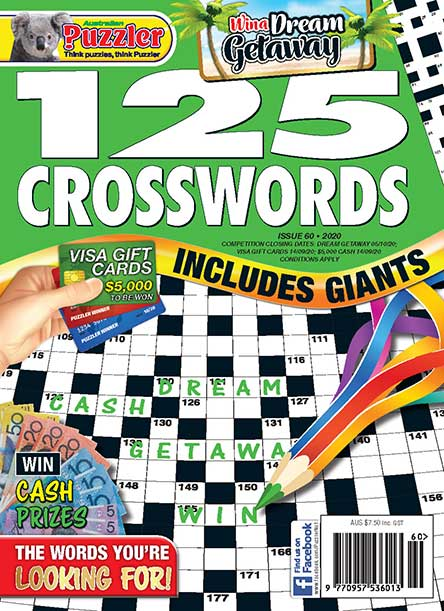 125 Crosswords Magazine Subscription