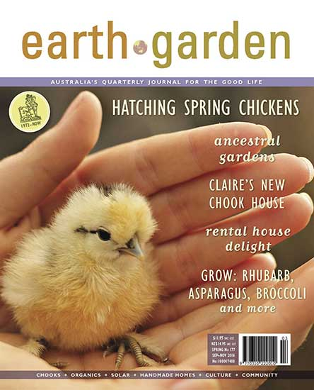 Earth Garden Magazine Subscription