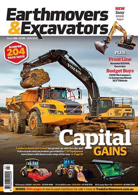 Earth Movers and Excavators Magazine Subscription