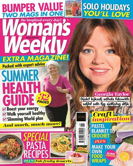 English Woman's Weekly Magazine Subscription
