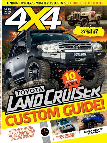 4X4 Land Cruiser Custom Guide