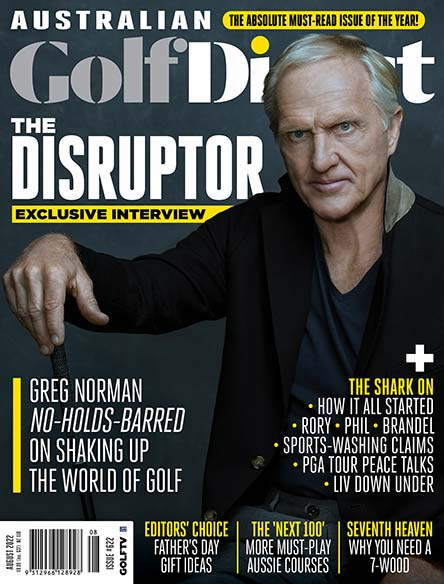 Australian Golf Digest Magazine Subscription