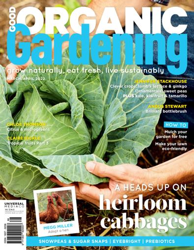 Good Organic Gardening 6 issues
