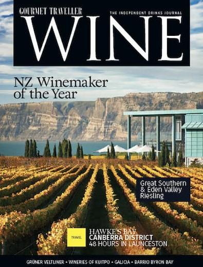 Gourmet Traveller WINE Magazine Subscription