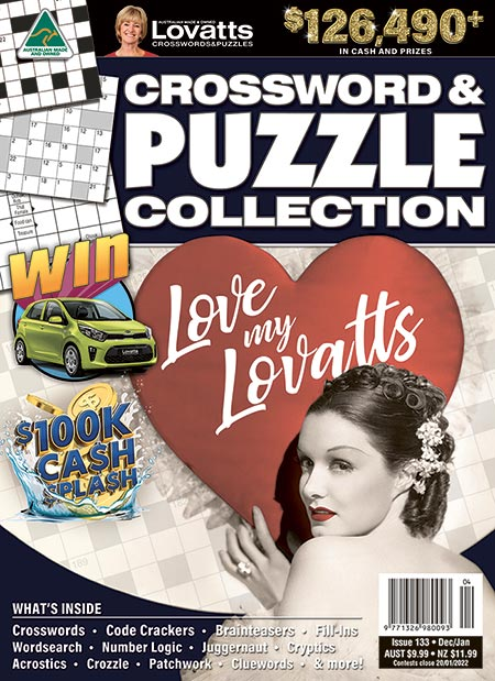 Lovatts Crossword & Puzzle Collection Magazine Subscription