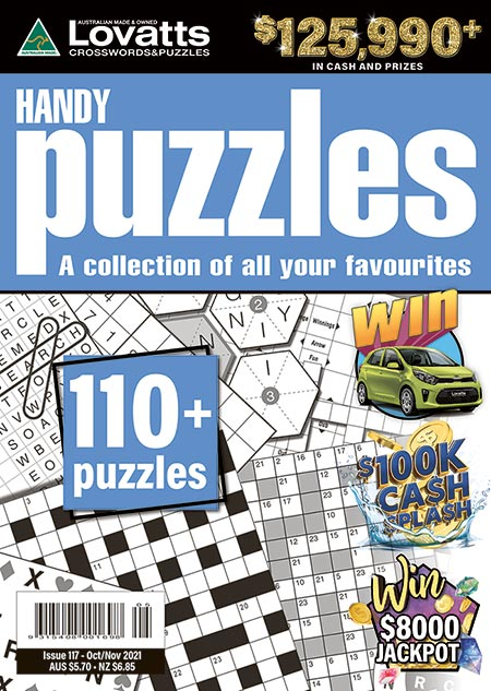 Handy Puzzles Magazine Subscription