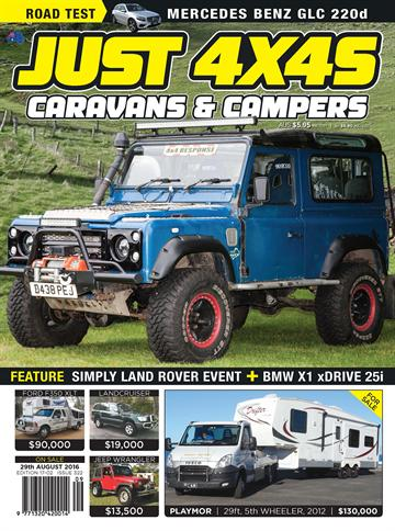 Just 4X4s and Outdoors 12 issues