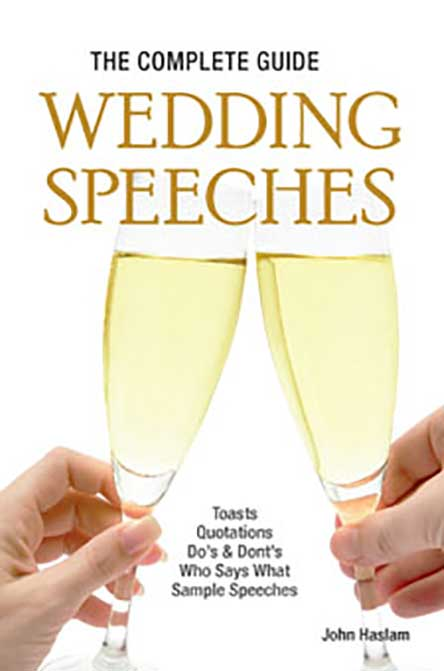 The Complete Guide to Wedding Speeches