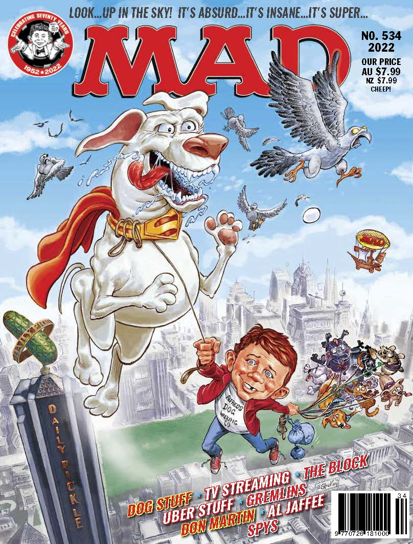 Mad Australian + Mad Classics Magazine Subscription
