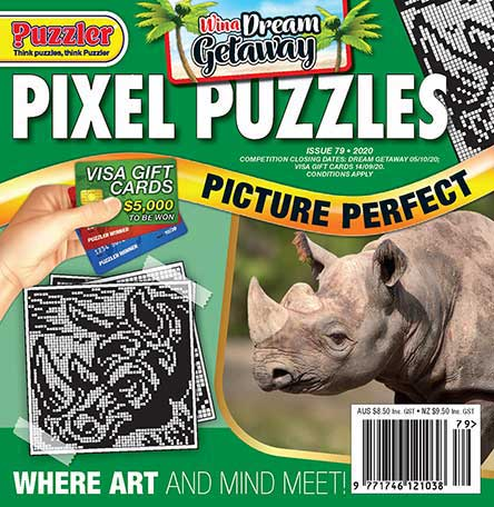 Pixel Puzzles Magazine Subscription