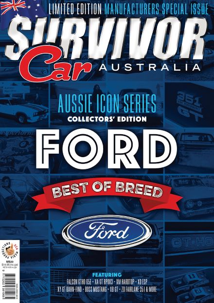 Survivor Car Australia Collectors Special Edition Magazine Subscription