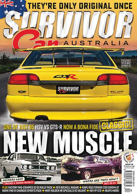 Survivor Car Australia Magazine Subscription