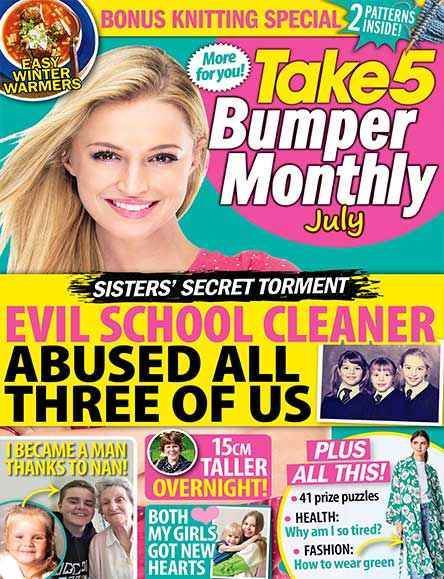 Take 5 Bumper Monthly Magazine Subscription