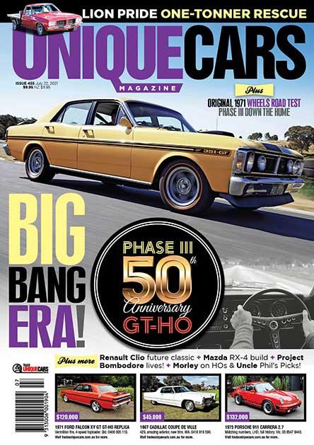 Unique Cars Magazine Subscription