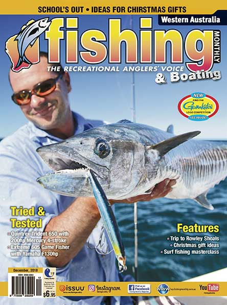 Western Australia Fishing Monthly Magazine Subscription